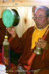 A local priest (Lama)